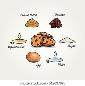 Christmas Cookies Ingredients