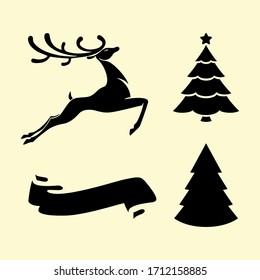 Christmas Decoration Elements Vector Design