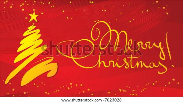 Christmas decoration. Vector illustration.