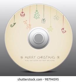 christmas design for cd cover