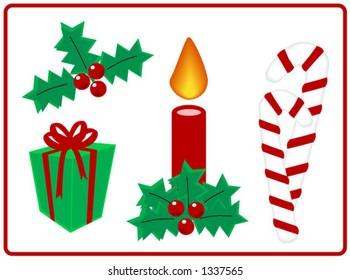 Christmas Design Elements - Vector