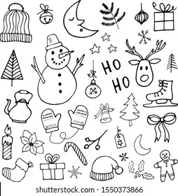 Christmas Drawing Images Stock Photos Vectors Shutterstock