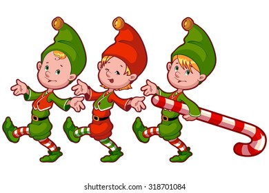 two christmas elf candy vector clipart stock vector 233540344 rh shutterstock com elvis clipart graphics free elvis clipart graphics free