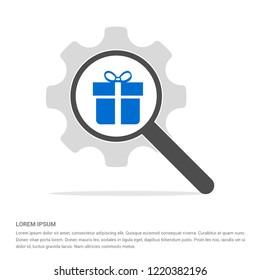Christmas Gift Box Icon - Free vector icon