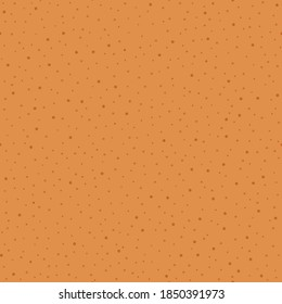 Christmas gingerbread texture. Holiday sweet cookie dough. Seamless vector pattern