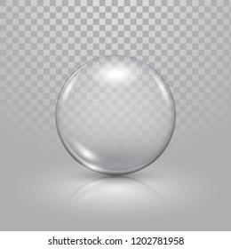 Christmas glass toy balls on transparent background. Christmas festive decoration objects. Xmas isolated shine decor