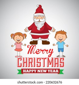 christmas graphic design , vector illustration