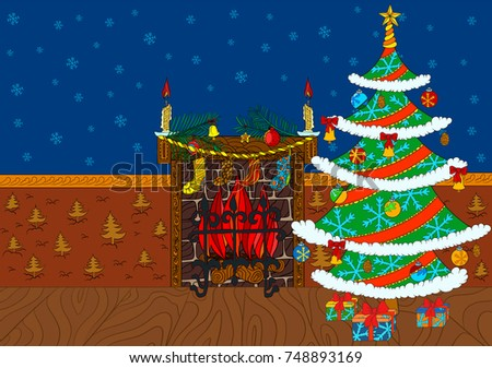christmas greeting background with place for your text it can be used for new year