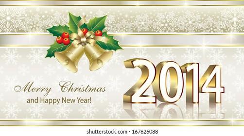 Christmas card christmas tree stock vector royalty free 165719006 christmas greeting card 2014 m4hsunfo