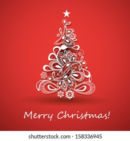 Christmas card images stock photos vectors shutterstock christmas greeting card m4hsunfo