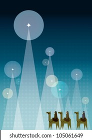 Christmas greeting card / Christmas background / design / template