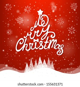 Merry christmas everyone greeting card vintage stok vektr 738428320 christmas greeting card merry christmas lettering m4hsunfo