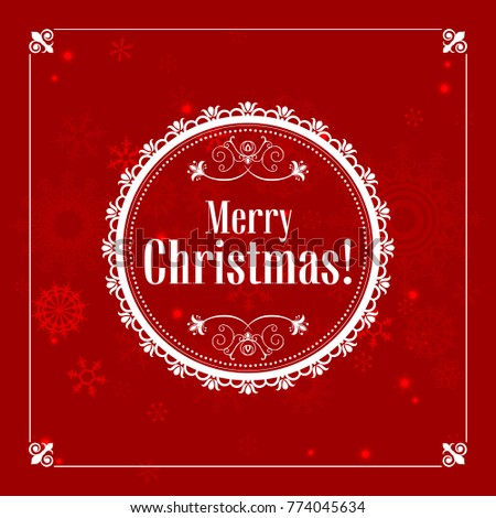 Christmas greeting card printing websites vector stock vector christmas greeting card for printing and websites vector illustration m4hsunfo