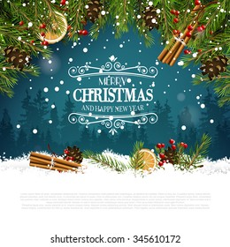 Christmas Greeting Card Images Stock Photos Vectors Shutterstock
