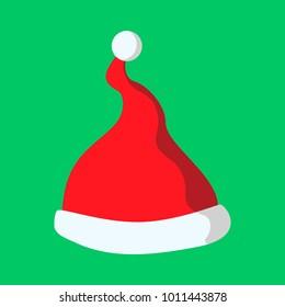Christmas Grinch Hat Vector Graphic Illustration Sign Symbol Design