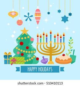 Christmas Hanukkah Kwanzaa And Other Holidays.Christmas Hanukkah Images Stock Photos Vectors Shutterstock