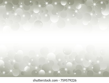 Christmas or happy new year gold vector background with white snowflake