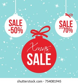 Christmas Hot Sale Banner for Retail Industry