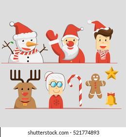 christmas icon Character