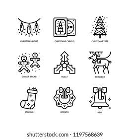 Christmas icon set 2