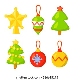 Cartoon Christmas Ornament Images Stock Photos Vectors Shutterstock Hang ornaments from zazzle on your tree this holiday season. https www shutterstock com image vector christmas icon set collection vector cartoon 516615175