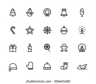 Christmas Icons Images Stock Photos Vectors Shutterstock