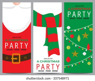 christmas invitation background template. can be use for business shopping card, customer sale and promotion, layout, banner, web design. vector illustration
