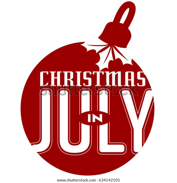 Christmas In July Royalty Free Images.Christmas July Ornament Icon Stock Vector Royalty Free