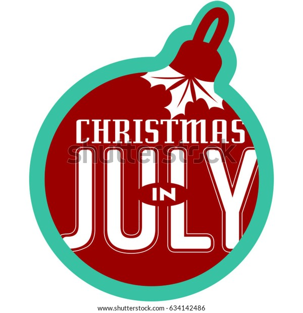 Christmas In July Clipart Free.Christmas July Ornament Icon Teal Outline Stock Vector