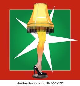 Christmas Leg Lamp The Perfect Gift, Don't Break it