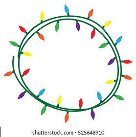 tangled christmas lights images stock photos vectors shutterstock rh shutterstock com vector christmas lights border vector christmas lights free