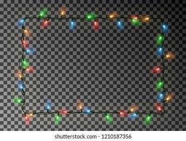 Christmas Light Border.Christmas Lights Border Images Stock Photos Vectors