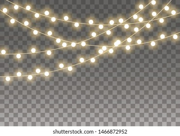 Christmas Fairy Lights Transparent.Christmas Fairy Lights Images Stock Photos Vectors