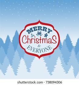 Christmas logo, banner, label, badge