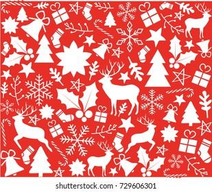 Christmas motifs