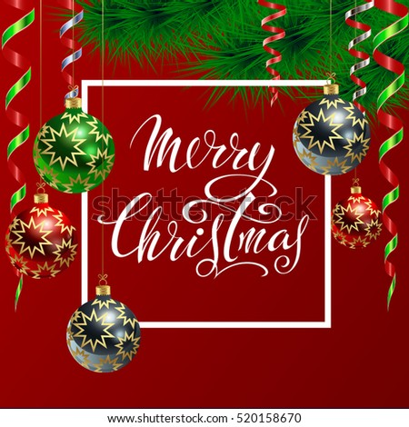 Christmas new year greeting card stock vector royalty free christmas and new year greeting card m4hsunfo