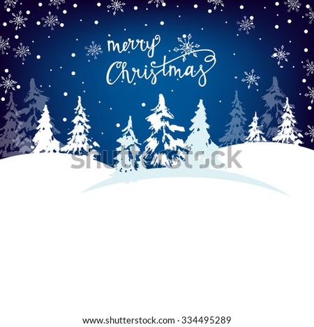 Christmas New Year Greeting Cards Christmas Stock Vector (Royalty ...