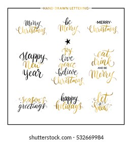 Christmas new year phrases quotes merry stock vector 532669984 christmas and new year phrases and quotes merry christmas happy holidays seasons greetings m4hsunfo