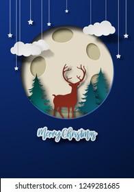 Christmas Papercut Design