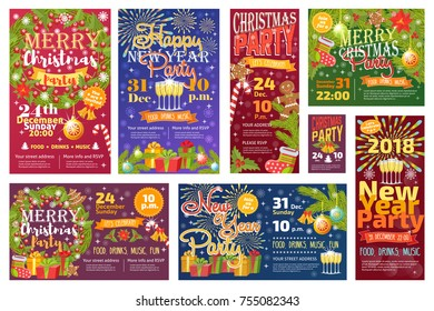Invitation nol images stock photos vectors shutterstock christmas party invitation vector card background design template for noel xmas holiday celebration clipart new year stopboris Image collections