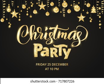 Holiday Party Images Stock Photos Vectors Shutterstock - Save the date christmas party template free