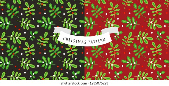 Christmas pattern holidays background