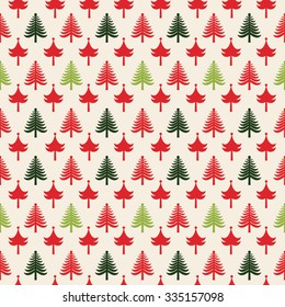 Christmas patterns (seamlessly tiling). Can be used for Christmas design.