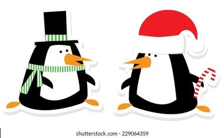 Christmas Penquins