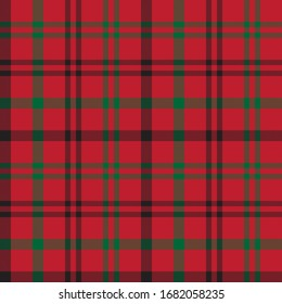 Christmas Plaid Tartan Seamless Pattern for shirt printing, fabric, textiles, jacquard patterns, backgrounds and websites