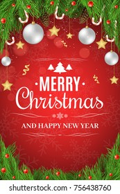 Christmas Poster Images Stock Photos Vectors Shutterstock