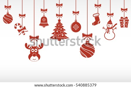 Black And White Christmas Tree Ornaments