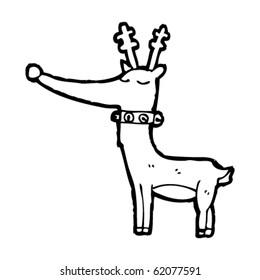 Cartoon Reindeer Stock Illustration 96469925 Shutterstock