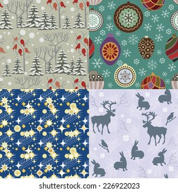 Christmas repeating backgrounds