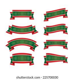 Christmas ribbon set